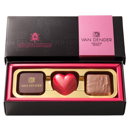 2021 バレンタイン  VANDENDER プラリネショコラ 3個入