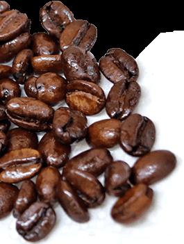 コーヒー豆の薫りに包まれる。