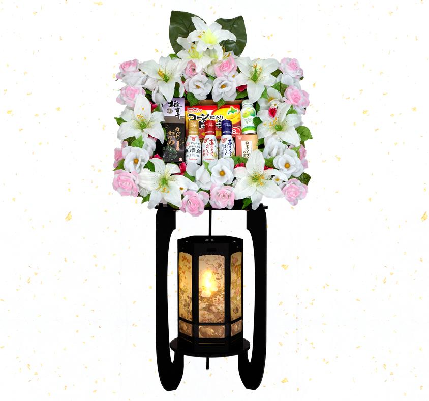 籠盛 花鳥風月燈籠 KT-100