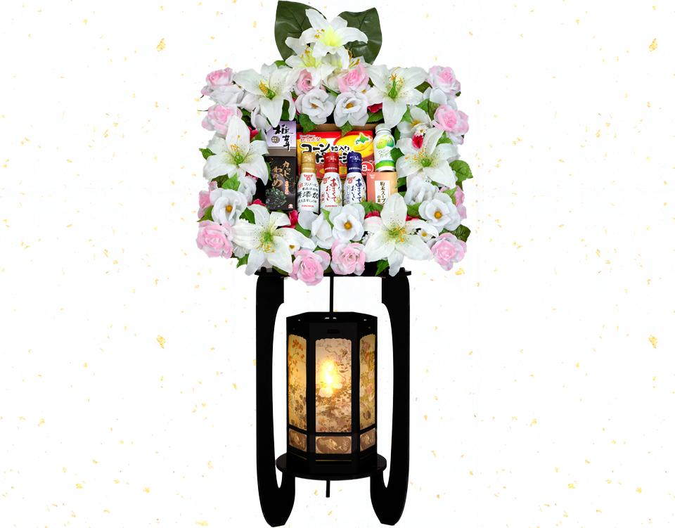 籠盛 花⿃風⽉燈籠 KT-100
