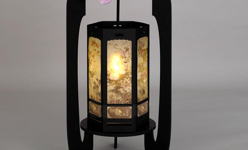 花鳥風月燈籠