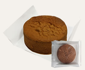 冷凍スポンジケーキ チョコ