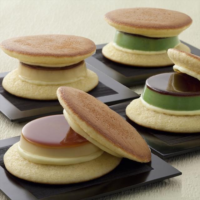 ゆふいん創作菓子 黒豆入り抹茶ぷりんどら詰め合わせ 12個入《冷凍発送》