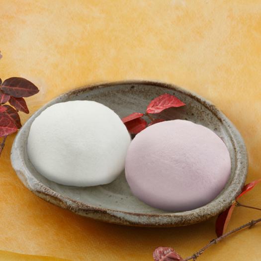 紅白薯蕷まんじゅう