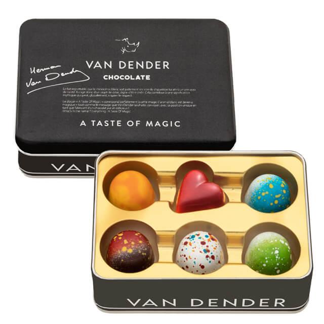 【おくれてゴメンね!】VANDENDERプラリネドームショコラ 6個入